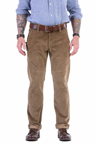 Chinohose Cord Beige
